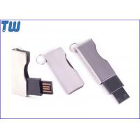 China Twist Shinning Metal Usb Thumbdrive Blade Type with Free Key Ring on sale