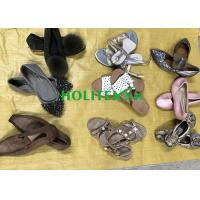 China Comfortable Used Womens Sandals , Second Hand Leather Shoes For Ladies wholesale