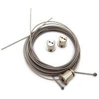 Buy cheap Panel Lamp Hanging Kit , PVC Coated Stainless Steel Cable Tie from wholesalers