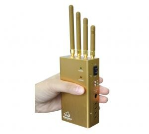 What are cell phone jammers used for - High Power Portable GPS Signal Blocker And Cell Phone Signal Jammer With Carry Case