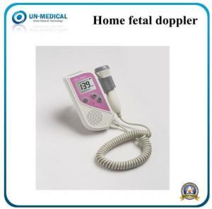 China LCD Screen Portable Pocket Handheld Fetal Heart Rate Doppler Monitor on sale