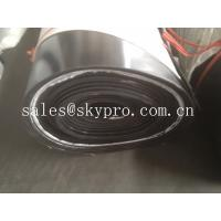 China Impact resistant SBR rubber sheet roll with fabric insertion reinforcement on sale