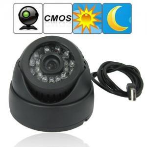 "Dome 1/4"" CMOS CCTV Surveillance TF Card DVR Camera Home Office Hidden Security Monitor Digital Video Recorder"
