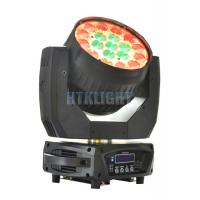 Buy cheap Indoor IP20 19 X 15W RGBW Stage Moving Head Light For Clubs , Parties from wholesalers