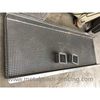 Buy cheap Customized Square Hole Perforated Metal Plate Bending And Forming from wholesalers