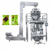 Buy cheap Customized Flat bottom bag potato chips packaging machine price from wholesalers