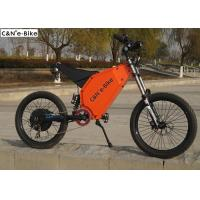 China Electric Mountain Bike / Road Bike Computer LCD Display 19 Inch 5000w 26Ah Lithium Battery wholesale