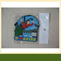 China Garment accessories customized pvc patches 3d silicone rubber garment label clothing label wholesale