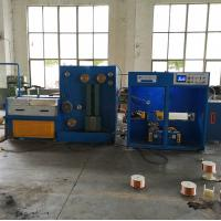 Buy cheap 17 DWT Copper Wire Drawing Machine With Annealer And Double Spoolers , from wholesalers
