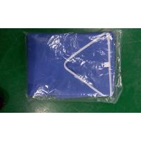 China Dark Blue Operating Room Scrubs Uniforms Laboratory Light Weight CE ISO Approved on sale