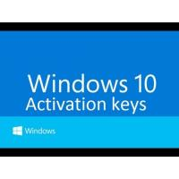 China Windows 10 Pro Software , Windows 10 Product Key code online activation wholesale