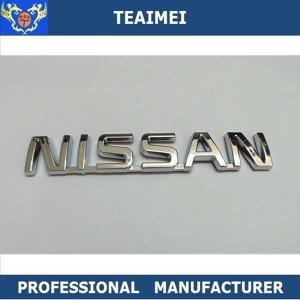 China Custom Car Logo Auto Parts Car Badge Emblem ABS Chrome Finished wholesale