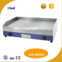 China CE Electric grille Best cast iron griddle Mirror hot plate 9mm thick WG-600SD on sale