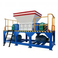 China small metal shredder Tire Recycling Plant tire recycling machine portable shredding plant wholesale