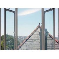 Buy cheap AS2047 Double Swing Aluminium Awning Windows Winder Tempered Glass For Villa from wholesalers