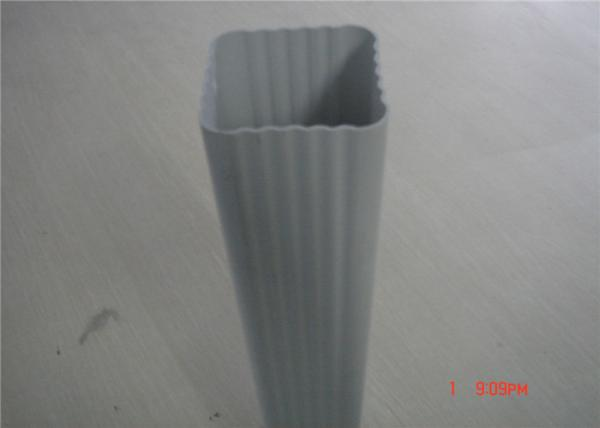 2inch / 7inch pvc rainwater gutters and downspouts , pvc drain p