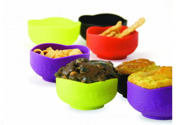 Quality Household Food Grade Silicone Bowl For Dishwasher / Microwave , Heat - Resistant for sale