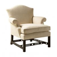 China Metal Foot Leisure Chair Ottoman Fabric Upholstered Modern Chaise Lounge Chair wholesale