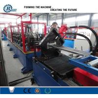 China CNC Automatic Metal Window Frame Roll Forming Machine With 8-12m/min High Speed on sale