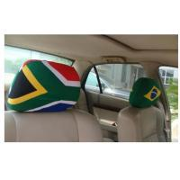 China Advertising Rear View Mirror Cover / Promo Items Decorative Headrest Covers wholesale