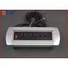 China Aleta manual acima da caixa 110V da interconexão do soquete da tabela de conferência - C.A. 240V wholesale