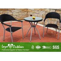 China Garden Use Patio Outdoor Furniture Wicker Cool Bar Patio Set Light Weight Frame wholesale