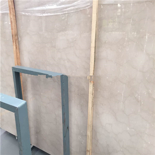 Quality Cream Antique Marble Slabs Customized Size Surface Polished Design for sale