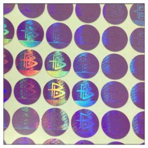 China Custom made high security anti-fake label hologram sticker , 3D secure genuine hologram sticker wholesale