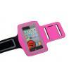 China Brassard pulsant du néoprène de sports de Velcro coloré de GYMNASE pour l'iphone 5 avec une poche pour la clé de voiture wholesale