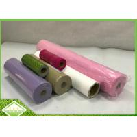 China 100% PP Virgin Spunbonded Non Woven Perforated Fabric Small Roll For Table Cloths on sale