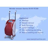 Buy cheap Thermo RF face lift anti aging thermal facial massage machine from wholesalers