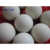 China Low Temprature Resistant HNBR Solid Industrial Ball , Rubber Medicine Ball wholesale