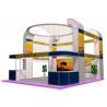 Safe Aluminum Truss Trade Show Display 5m*6m , Island Booth Displays