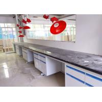China No Loose Paint And Rust Steel Lab Bench Furniture For chemical/school/ hospital / university college laboratory Forever on sale