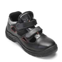 China Safety Sandal Safety Shoes with Steel Toe and Steel Plate PU Outsole Rh701 on sale