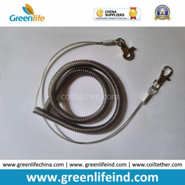 Gray Coil Wire : Rope gray images