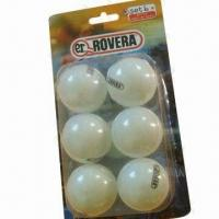 China Table tennis ball, made of celluloid wholesale