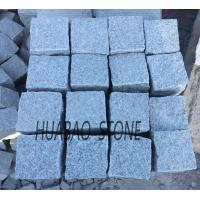 China Grey Granite tile G602 cube stone paving stone for indoor outdoor floor wall on sale