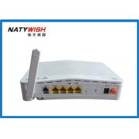 China White 1 VOIP GPON ONU Fiber To The Home Router Support Port Speed Limitation wholesale