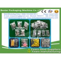 China High efficiency Stainless steel 304 Fastener pouch making machine, Fastener weighting and packing machine on sale