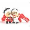 China Custom 3D Figurine Key Ring Souvernir, Soft Touch PVC Key Ring Key Accessory wholesale