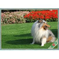 China Anti Bacterial Soft Permeable Fake Green Grass Pet Grass Field Green Color wholesale