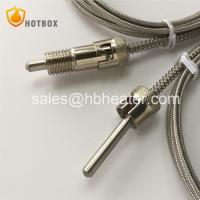 China K J E T type thermocouple PT100 with adjusted spring for plastic injection molding machine and extruder machine on sale