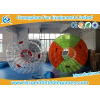 China Colorful Professional Inflatable Water Roller For Outside Pool Toys 2.7 * 2.4 * 1.8m wholesale
