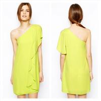China One Shoulder Womens Cocktail Dresses wholesale