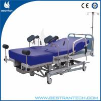 China Stainless Steel Obstetric Delivery Bed With Cushion For Newborn Baby wholesale