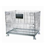 1200*1000*1250 collapsible pet preform stackable wire mesh containers