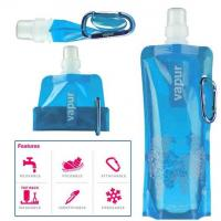China hot selling plastic foldable water bag/folding water bottle/drinking bottle wholesale
