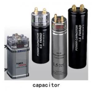 China Car Audio Capacitors wholesale
