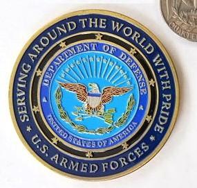 Buy cheap Войска отдела США бросают вызов эмаль монеток мягкая для плакировки золота украшений from wholesalers